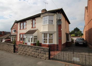 Thumbnail 3 bed detached house for sale in Saxon Street, Stapenhill, Burton-On-Trent