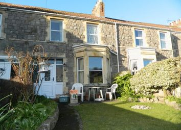 Thumbnail 3 bed terraced house for sale in 14 Rhyne Terrace, Uphill, Weston-Super-Mare, North Somerset