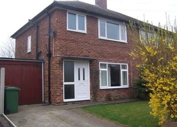 Thumbnail 3 bed semi-detached house to rent in Gorsehill Road, Heswall, Wirral
