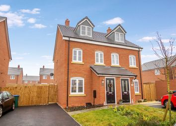 Thumbnail 3 bed semi-detached house for sale in Lanchbury Avenue, Coventry