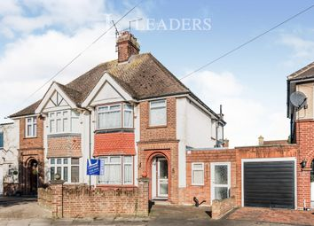 Thumbnail 4 bedroom semi-detached house to rent in Everard Road, Bedford