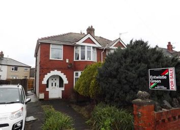 Thumbnail 3 bed semi-detached house for sale in Tibicar Drive East, Heysham, Morecambe, Lancashire
