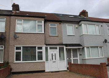 Thumbnail 3 bed terraced house for sale in Grove Park Road, South Hornchurch, Essex