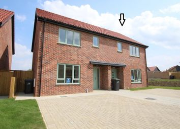 Thumbnail 3 bed semi-detached house for sale in Ovins Rise, Haddenham, Ely