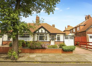 Thumbnail 2 bed bungalow for sale in Woodleigh Road, Monkseaton, Whitley Bay