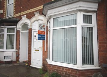 Thumbnail 2 bedroom terraced house to rent in Wynburg Street, Hull