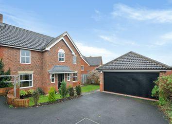 Thumbnail 4 bedroom detached house for sale in Firecrest Road, Basingstoke