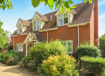 Thumbnail 4 bedroom detached house for sale in The Green, Chedburgh, Bury St. Edmunds