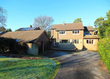 Thumbnail 5 bed detached house for sale in Clewborough Drive, Camberley