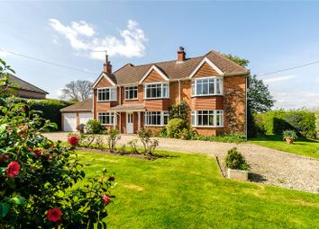 Thumbnail 4 bed detached house for sale in Hopgoods Green, Bucklebury, Reading