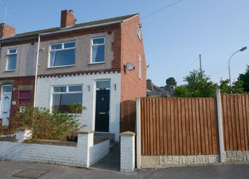 Thumbnail 2 bed end terrace house to rent in Prospect Road, Old Whittington, Chesterfield