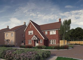 Thumbnail 4 bed detached house for sale in Plot 9, 'the Chancellors', Bedford Road, Moggerhanger