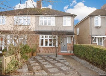 Thumbnail 3 bed semi-detached house to rent in Stuart Avenue, Walton-On-Thames