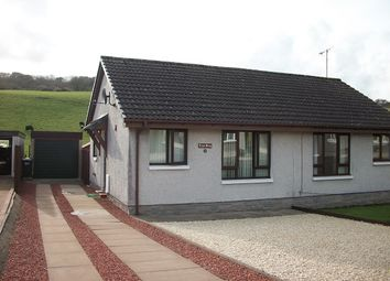 Thumbnail 1 bed semi-detached bungalow for sale in 46 Leafield, Stranraer
