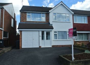 Thumbnail 3 bedroom semi-detached house for sale in Pear Tree Crescent, Shirley, Solihull