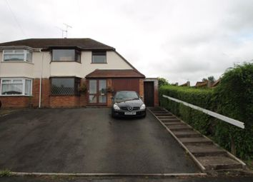 Thumbnail 3 bed semi-detached house to rent in Meadowbrook Road, Halesowen, West Midlands