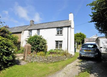 Thumbnail 2 bed semi-detached house for sale in Hillpark, Kilkhampton, Bude, Cornwall