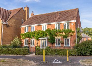 Thumbnail 4 bedroom detached house for sale in Vernier Crescent, Medbourne, Milton Keynes