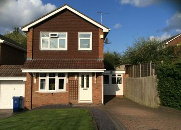 Thumbnail 3 bed detached house for sale in Herondale, Hednesford, Cannock