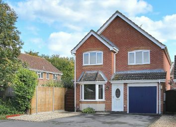 Thumbnail 4 bed detached house for sale in Stourhead Close, Andover