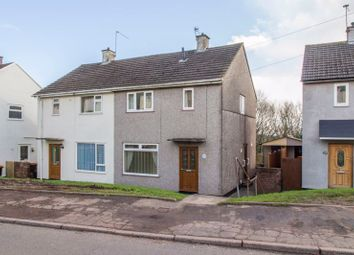 Thumbnail 2 bedroom semi-detached house for sale in Brynglas Drive, Newport