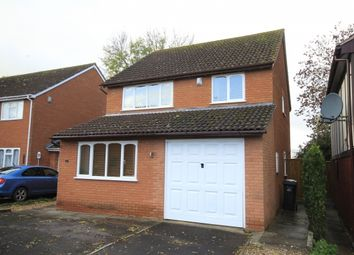 Thumbnail 4 bed detached house for sale in Wade Close, Westonzoyland, Bridgwater