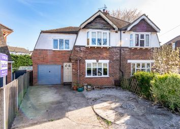 Thumbnail 4 bed semi-detached house for sale in Tudor Grove, Rainham, Gillingham
