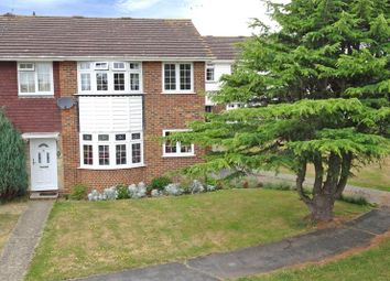Thumbnail 3 bed end terrace house for sale in Merryfield Crescent, Angmering, Littlehampton