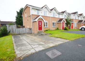 Thumbnail 2 bed end terrace house for sale in Stonegate Crescent, Meanwood, Leeds, West Yorkshire.