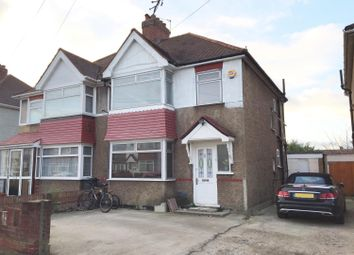 Thumbnail 4 bed semi-detached house for sale in Legrace Avenue, Hounslow