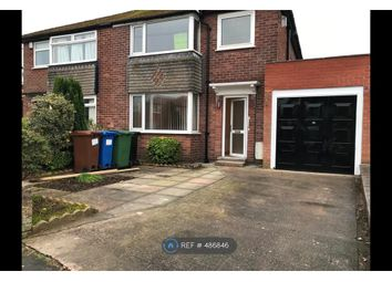 Thumbnail 4 bed semi-detached house to rent in Capesthorne Rd, Stockport