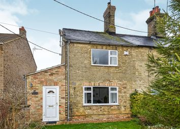 Thumbnail 2 bed end terrace house for sale in Norwich Road, Shouldham, King's Lynn