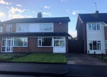 Thumbnail 3 bed semi-detached house for sale in Brighton Avenue, Wigston, Leicester, Leicestershire