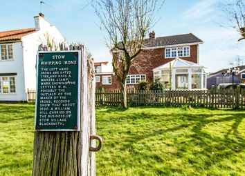 Thumbnail 4 bed detached house for sale in Post House Normanby Road, Stow, Lincoln