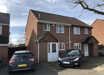 Thumbnail 3 bed semi-detached house for sale in Camborne Avenue, Harold Hill, Romford