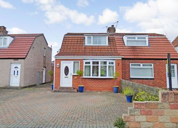 Thumbnail 2 bed bungalow for sale in Lauderdale Avenue, Wallsend