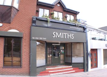 Thumbnail Commercial property for sale in Church Road, Eccles, Manchester