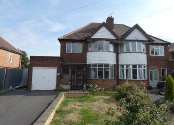 Thumbnail 3 bed semi-detached house for sale in Westwood Road, Sutton Coldfield