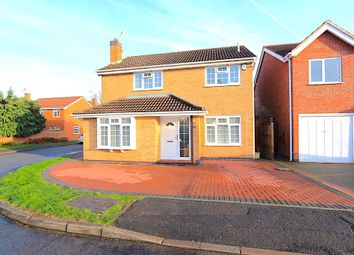 Thumbnail 4 bed detached house for sale in Kingcup Close, Leicester Forest East, Leicester