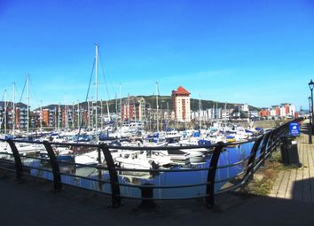 Thumbnail 1 bed flat to rent in Trawler Road, Marina, Swansea, Ixb
