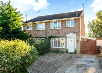 Thumbnail 3 bed semi-detached house for sale in Grenville Gardens, Frimley Green, Camberley, Surrey