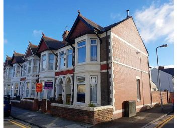 Thumbnail 3 bed end terrace house for sale in Heathfield Road, Cardiff