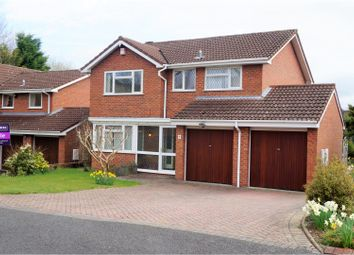 Thumbnail 4 bedroom detached house for sale in Earlswood Drive, Madeley Telford