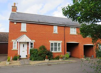 Thumbnail 3 bedroom link-detached house for sale in Crossberry Way, Helpston, Peterborough