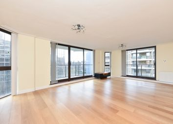 Thumbnail 3 bed flat to rent in Blythe Road, Kensington, London
