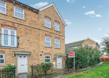 Thumbnail 3 bed town house for sale in Eveas Drive, Sittingbourne