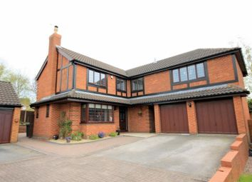 Thumbnail 5 bed detached house for sale in Cooper Close, Stone