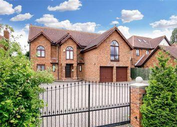 Thumbnail 5 bedroom detached house for sale in Gregories Drive, Wavendon Gate, Milton Keynes