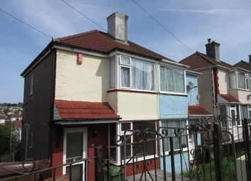 Thumbnail 2 bed semi-detached house to rent in Cardinal Avenue, St Budeaux, Plymouth, Devon