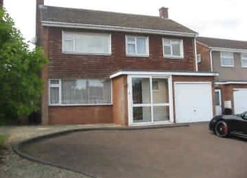 Thumbnail 3 bed detached house to rent in Grosvenor Close, Four Oaks, Sutton Coldfield